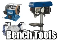 Stationary and Bench Tools + Accessories