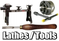 Lathes + Lathe Tools + Accessories