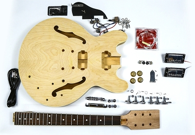 Semi-Hollow Gibson ES Style Guitar Kit