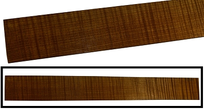 Torrefied Maple Flame Fingerboard, 21
