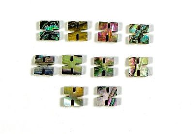 Abalone 8.5mm Diamond Position Marker Inlay (10 piece pack)