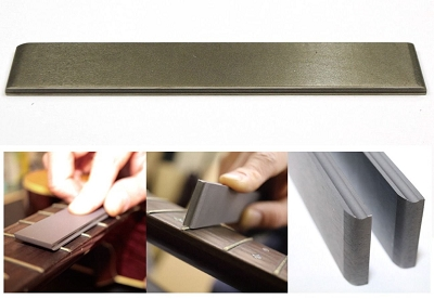 3 in 1 Diamond Fret Leveling File, for ukulele, mandolin and normal guitar frets
