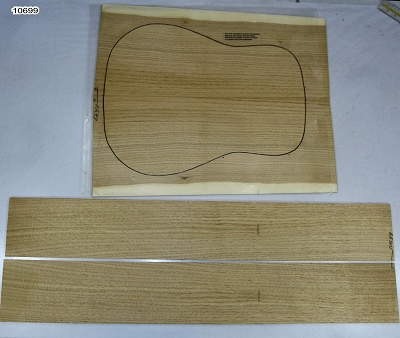 Japanese Walnut Dreadnought back & side set - Stock# 10699