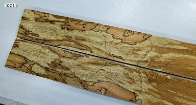 2 Spalted Maple pieces, 0.92