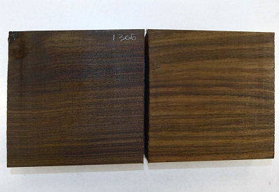 Indian Rosewood squares, 2 pieces, 2.3