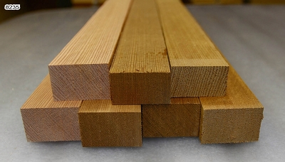 Red Cedar Bracewood, 7 blocks - Stock# 8235
