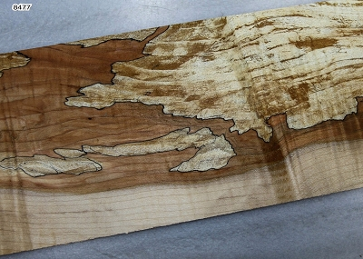 Spalted Maple Pickguard piece 0.21