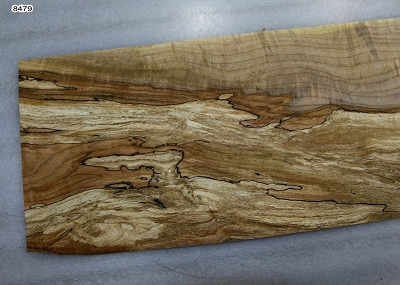 Spalted Maple Pickguard piece 0.31