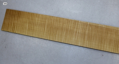 Maple Flame Bass Fingerboard 0.31