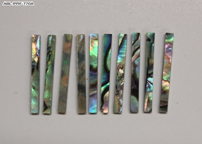 Purfling / Rosette Inlay - Abalone Straight, 10 pcs.