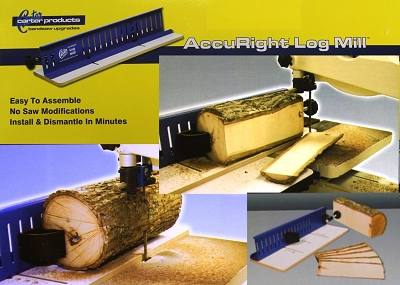 Carter Products AccuRight Log Mill