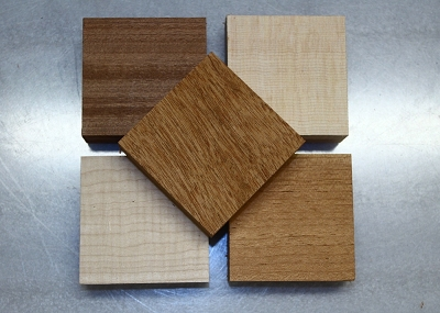 End Block for Acoustic Guitars (choose from Mahogany, Spruce and other) 1