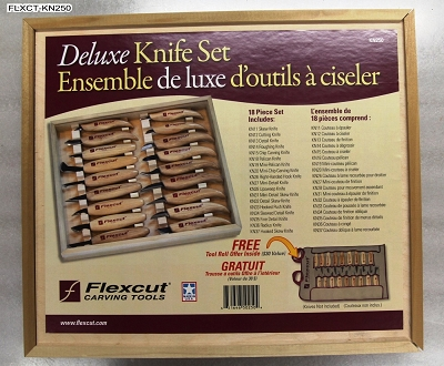 Flexcut Deluxe 18-Piece Knife Set