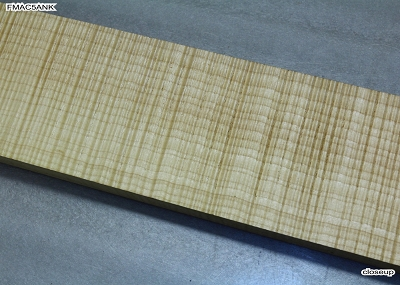 Maple Flame neck blank: 1
