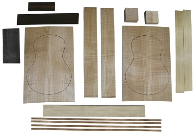 Ukulele Kit, Maple