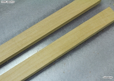 Unkerfed Lining, 2 Basswood pieces, 34