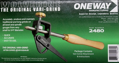 Oneway Wolverine the Original Vari-Grind for up to 3/4