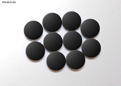 Black 3mm Round Position Marker Inlay (10 piece pack)
