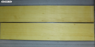 Bending Practice Side set (two pieces), Yellow Cypress, 0.15