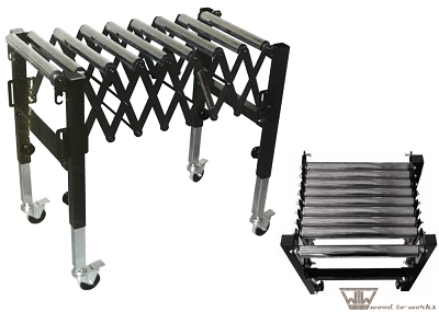 SuperMax® Expandable Roller Conveyor