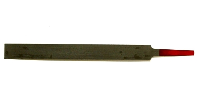 Gauged Edge-Cut Nut Slotting File 0.010