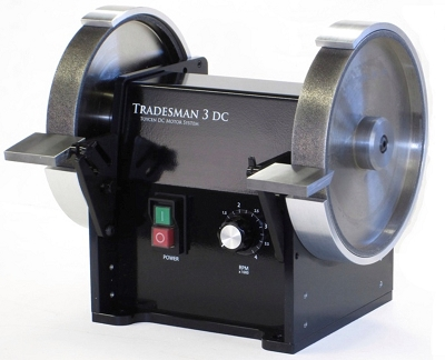 Cuttermasters Tradesman Twin DC Bench Grinder
