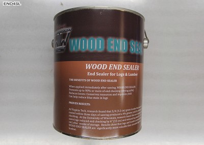 Wood End Seal - End sealer for logs and lumber, 3.78 Litre