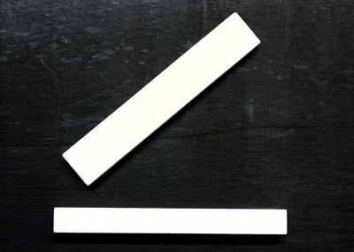 Bleached Bone Nut for Electric & Acoustic Guitars (55x10x5.5mm)