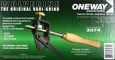 Oneway Wolverine the Original Vari-Grind for up to 1-1/8