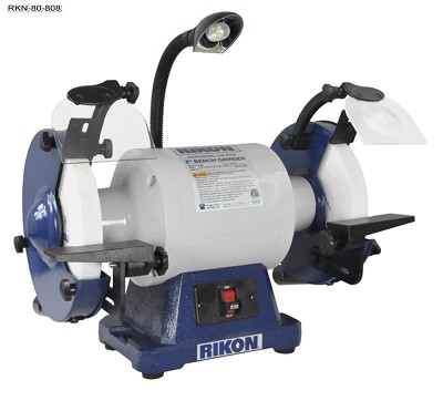 Rikon 1 HP Low Speed Bench Grinder