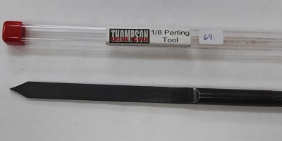 Thompson Parting Tool Gouge, 1/8