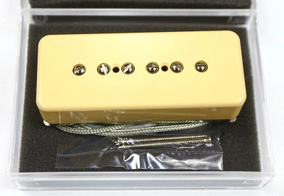 Premium Wilkinson P-90 Style Bridge pickup, Cream