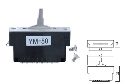 5-way Covered Switch